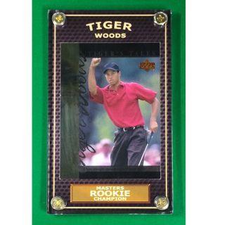 Tiger Woods Rookie #TT11 PGA Masters 2019 Champion Golf Card