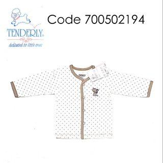 [3~12 MTHS] TENDERLY LONG SLEEVE F/BODY WITH BUTTON ( 700502194 )