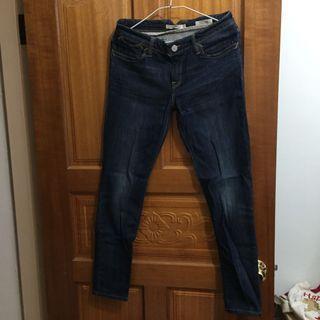 Levi's 711 skinny 牛仔褲 27