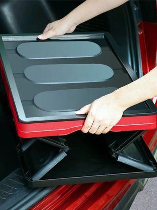 汽車後座儲物箱 多色 可折疊 收納箱