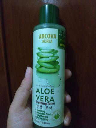 Toner Arcova Korea Aloe Vera Soothing Toner