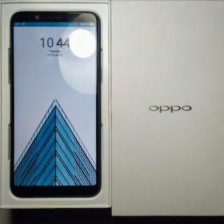 Smartphone android Oppo F5 Youth Hitam, 3/32, mulus, ex-kantor