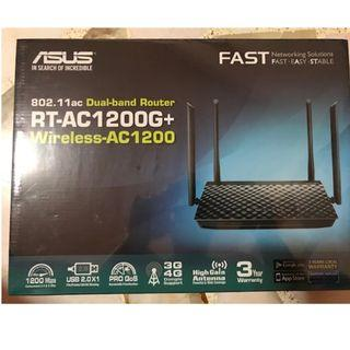 ASUS 802.11ac Dual-band Router RT-AC1200G+Wireless-AC1200