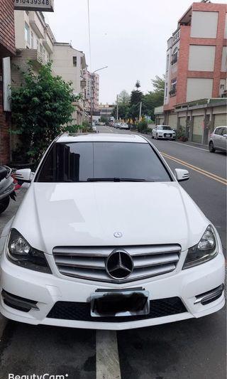 自售 Mercedes Benz賓士C250 年份2013/02