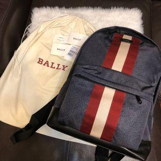 Full set🎒Bally backpack背浪