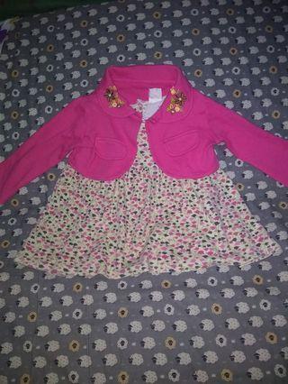 Preloved dress bolero bayi