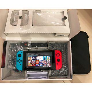 Nintendo Switch + SX Pro + 64GB Memory Card + 20 Games