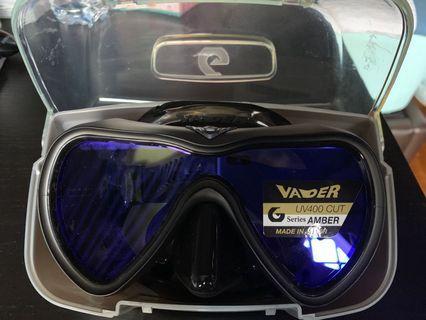 🚚 Gull Vader Matte Black Mask