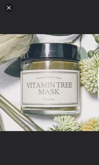 I'm From Vitamin Tree Mask