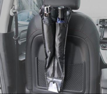 車用 雨傘袋 雨傘收納 防整濕地毯座位