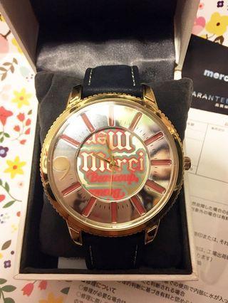 [服飾]正版 mercibeaucoup, 深藍色錶