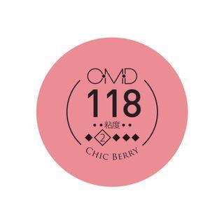 💯🇯🇵 原裝日本進口 OMD 甲油膠 5秒速乾 #118