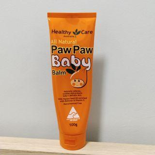 All Natural Paw Paw Baby Balm 100g