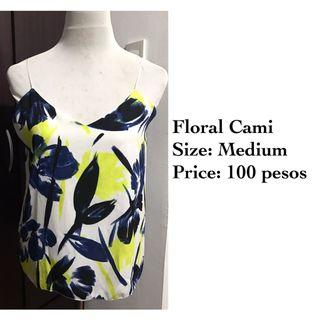 Floral Cami