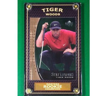 Tiger Woods Rookie #SL7 PGA Masters 2019 Champion Golf Card