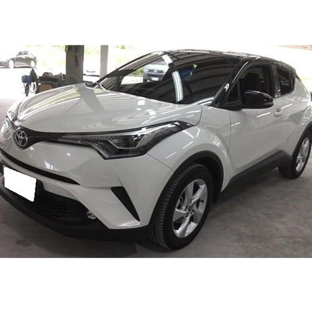賣42萬跑1萬多公里 2017年 Toyota/豐田 CHR C-HR 都市渦輪一拜省油便宜Good好 需要其他內裝加我
