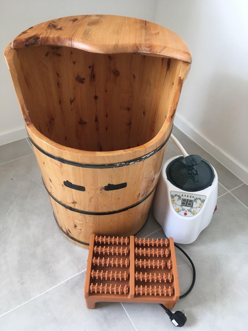 減肥 蒸腳桶 steamed foot bucket