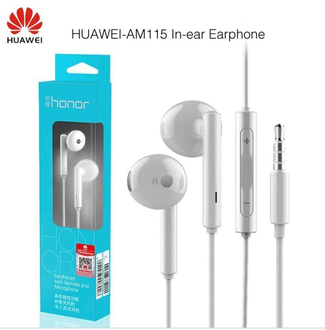 華為榮耀耳機 Huawei honor AM115 earphones