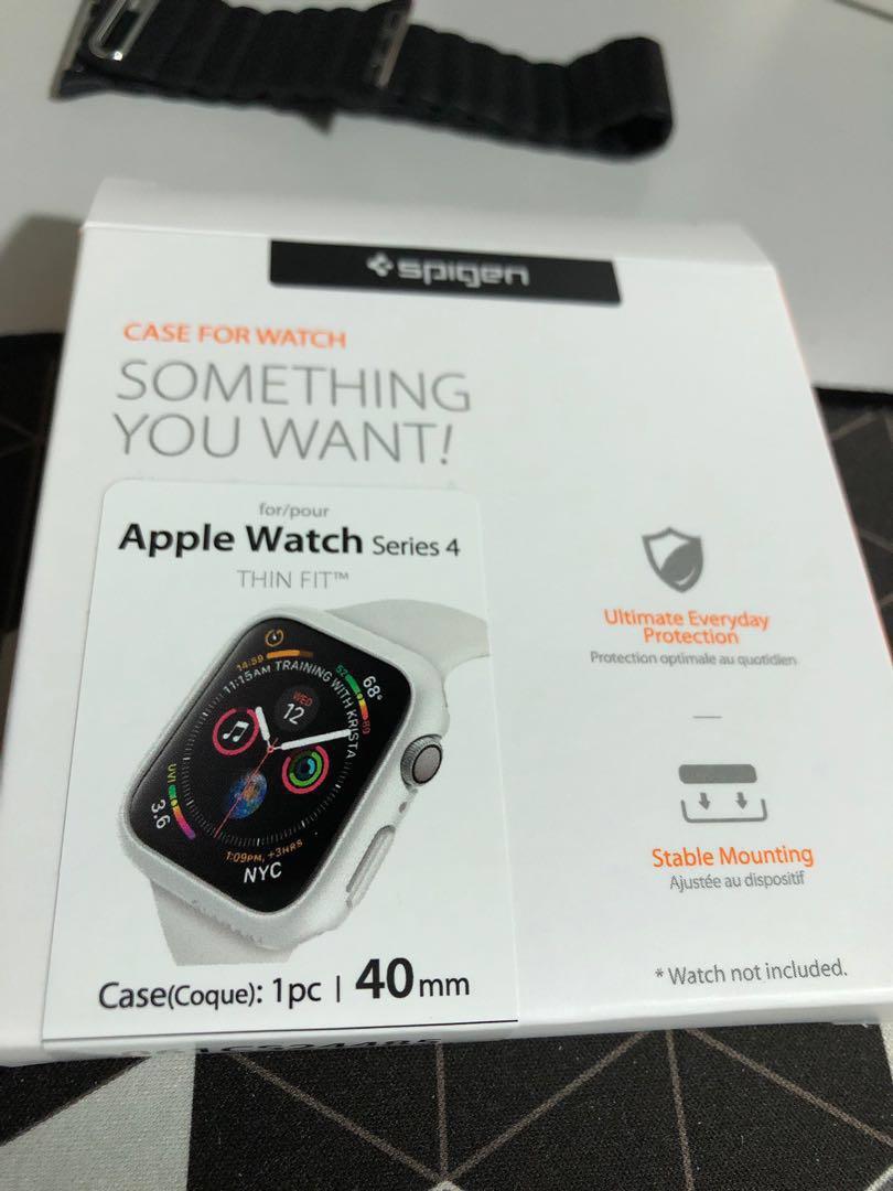 new style b2b52 c3534 Apple Watch 4 (40mm) SPIGEN thin fit