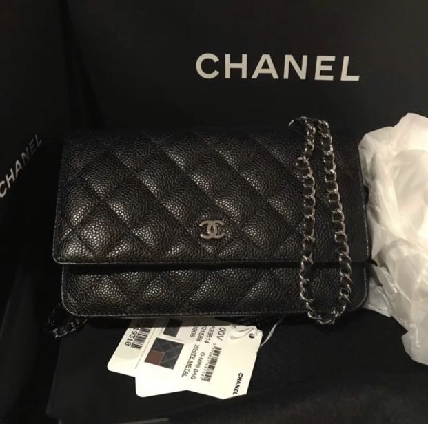 1af062009847 🔥Authentic Chanel WOC Sling Bag, Women's Fashion, Bags & Wallets ...