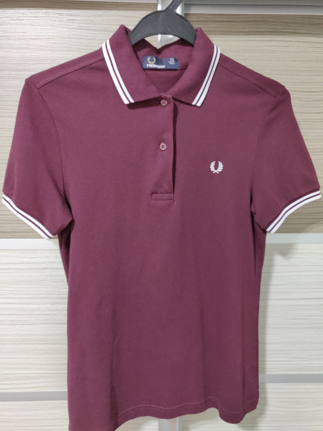 3ca23e095 Authentic Fred Perry Womens Polo in Maroon, Women's Fashion, Clothes ...
