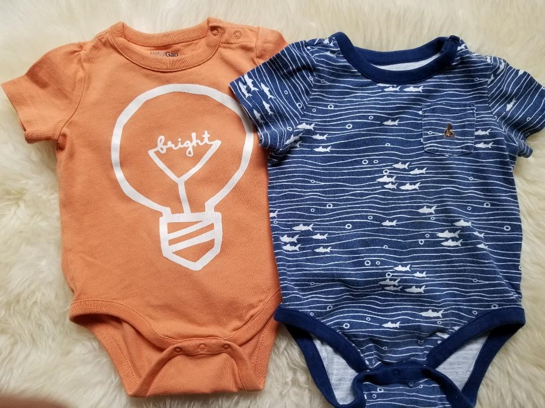 Baby Gap fashion onesies bodysuits baby clothing lot. With snap detailed at shoulder. Can be worn alone or layered. size 6 to 12 months. UC. Pick up Gerrard and Main Street for $5 each or take all three for $10. Or pick up Yorkville for $11.
