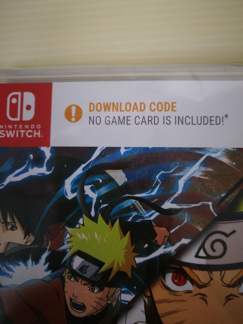 Brand New) Nintendo Switch Naruto Shippuden Ultimate Ninja