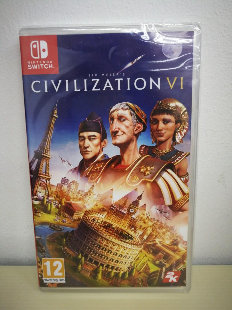 (Brand New) Nintendo Switch Sid Meier's Civilization VI