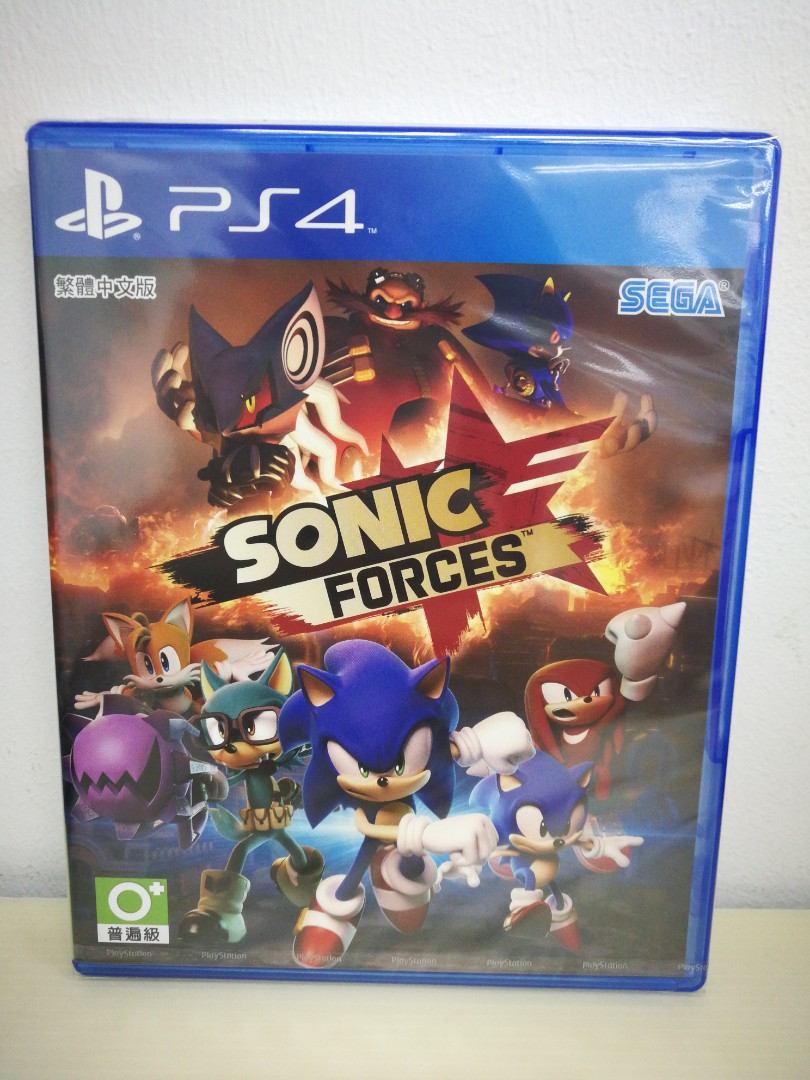 (Brand New) PS4 Sonic Forces / R3 (Voice - English / Japanese