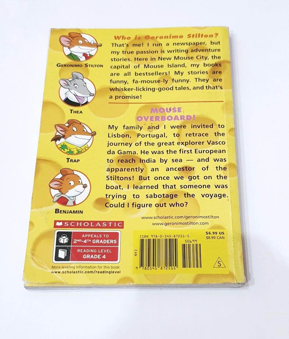 Buku Import Inggris Anak: Geronimo Stilton