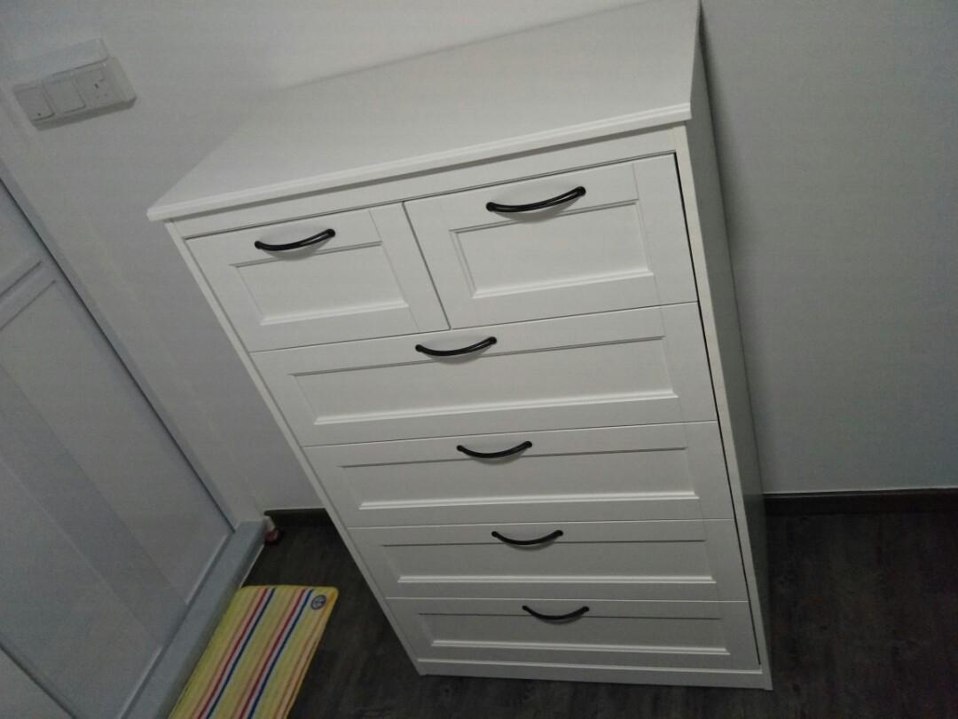 Of Drawers Chest Ikea On SongesandFurnitureShelvesamp; 0P8XknwO