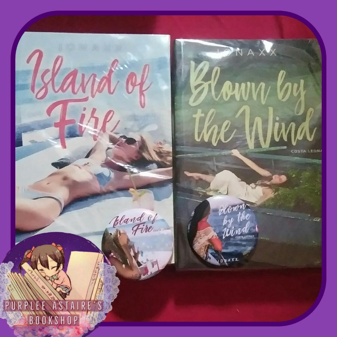 Costa Leona Series 3&4 by Jonaxx : Island of Fire and Blown by the Wind