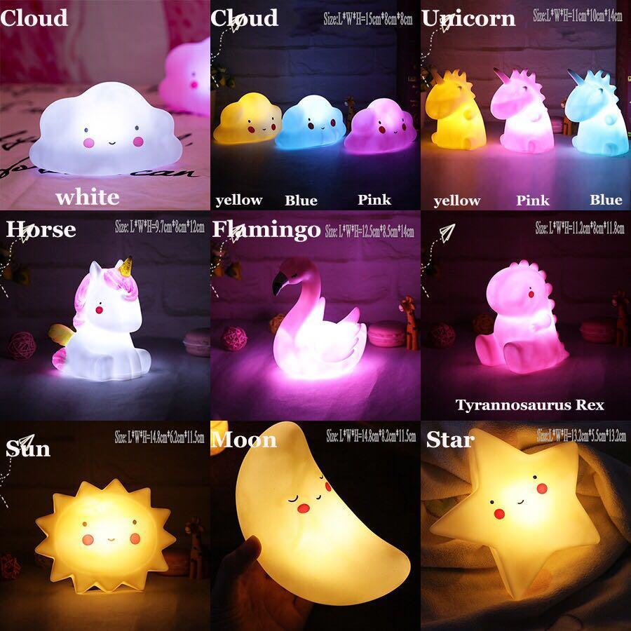CUTE TABLE LAMP NIGHT LIGHT