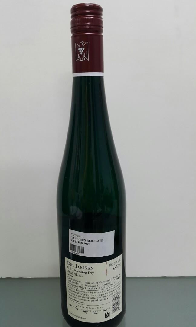 Dr Loosen Red Slate Riesling Dry 2016 750ml 德國白酒