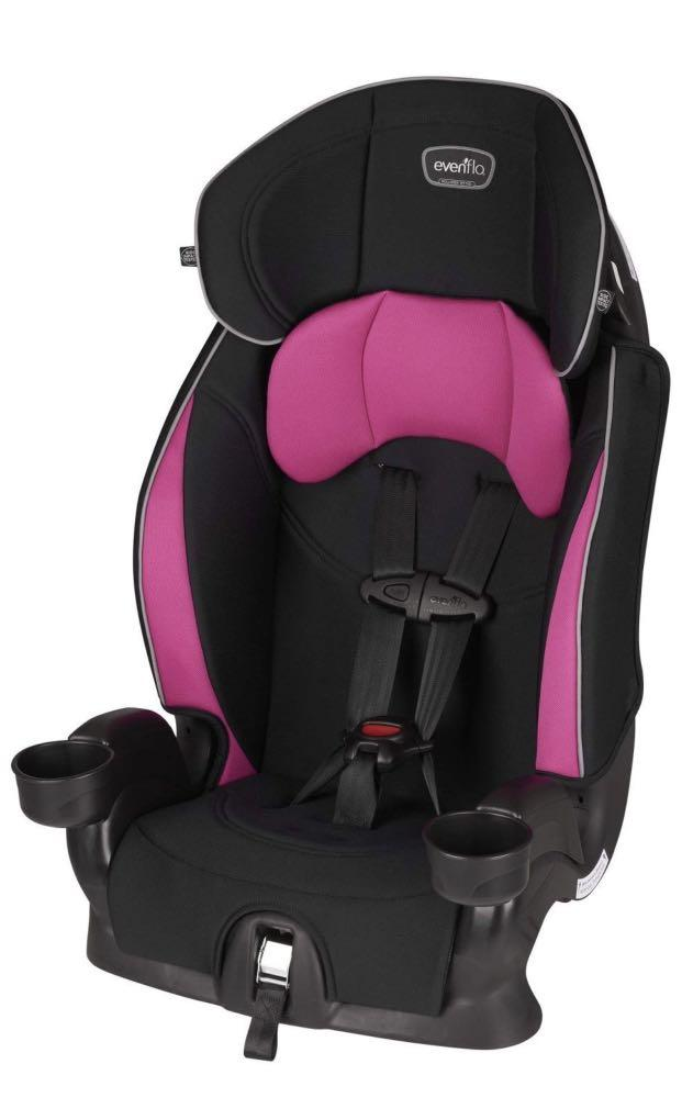 Jayden Evenflo Chase Sport Harnessed Booster Car Seat