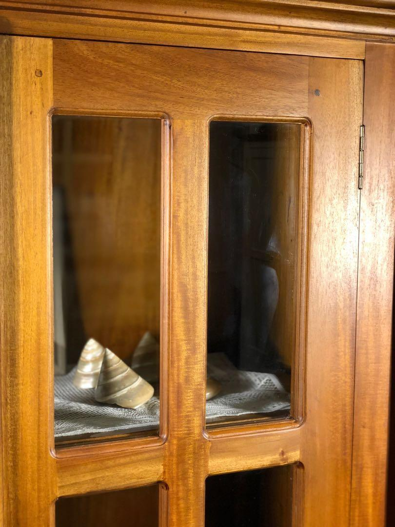 SEPT11–15 FACTORY SALE Teak Glass Display Cabinet TeakCO.com