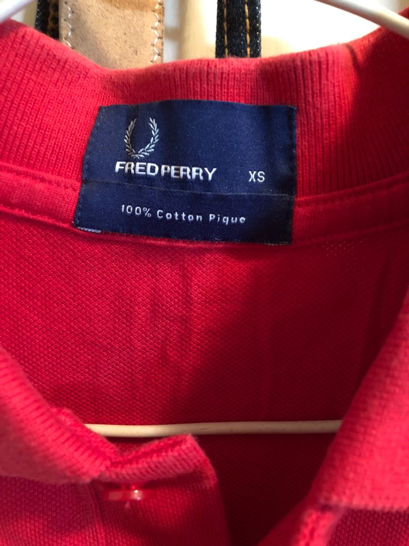 Fred Perry Polo 紅色有領