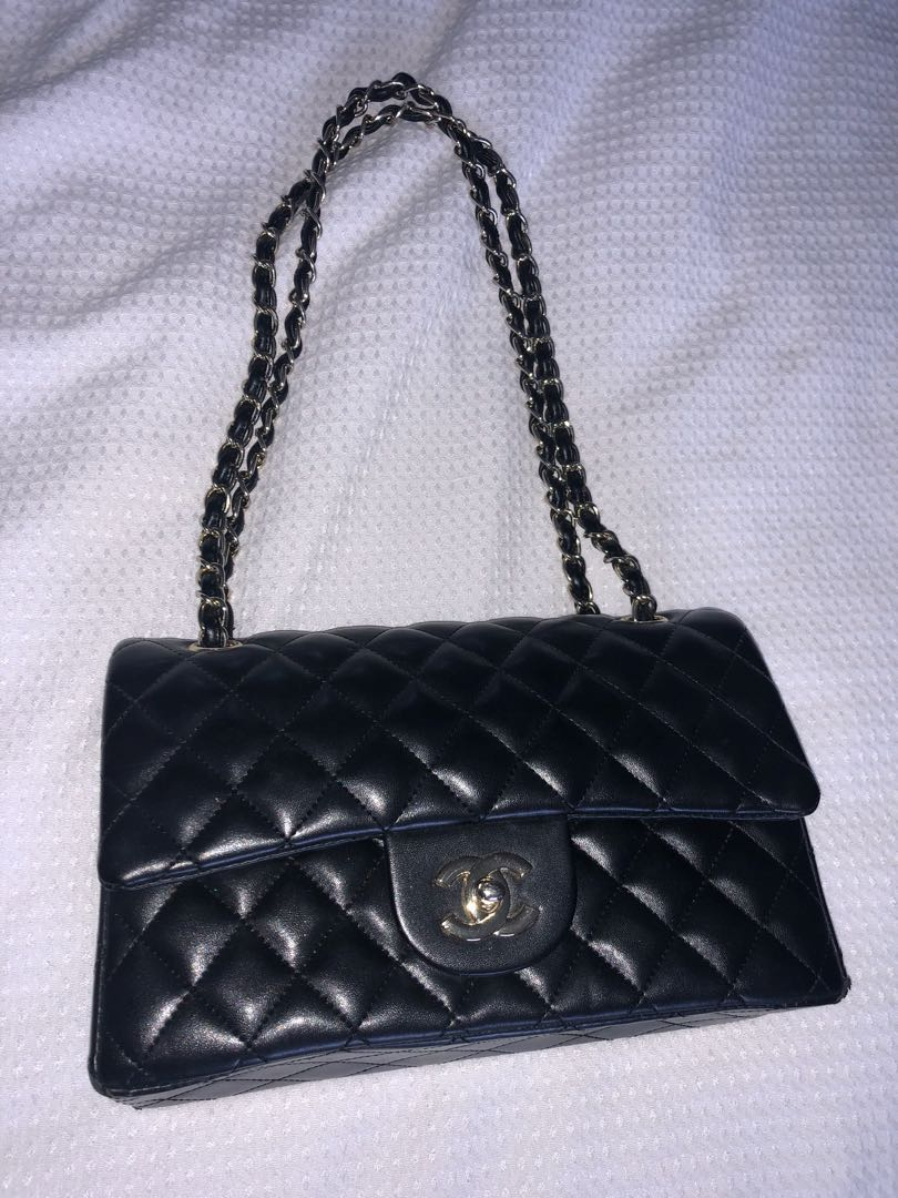 fa0587b882621d Genuine leather Chanel bag, Luxury, Bags & Wallets on Carousell