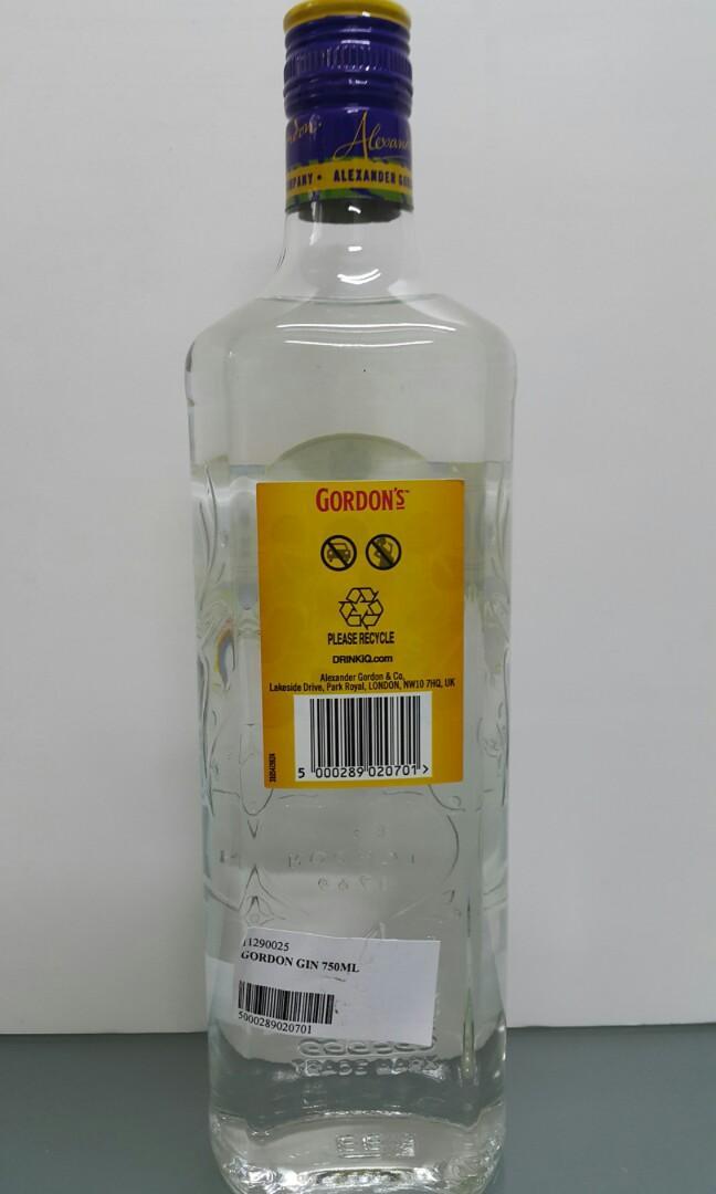 Gordon Gin 750ml