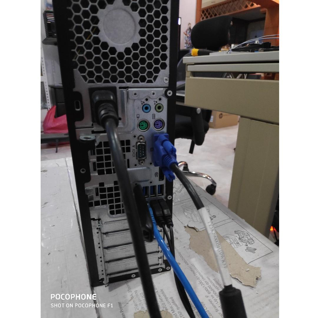 Intel i3 2100 HP Compaq Pro 6300 SFF Desktop PC, Electronics