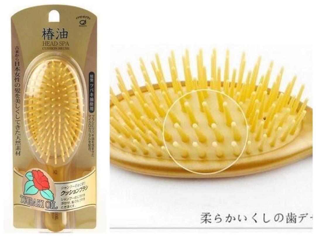 日本製🇯🇵IKEMOTO椿油柔順護髮按摩梳🦄