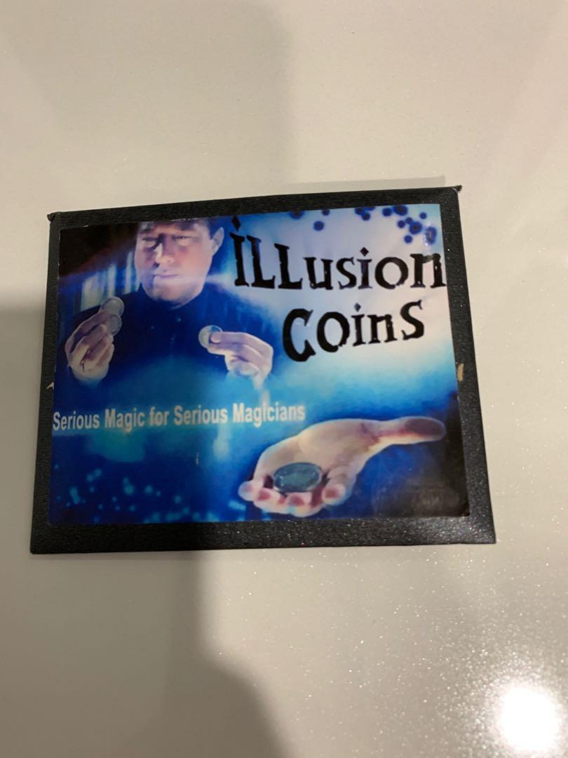 Illusion Coin close up magic trick