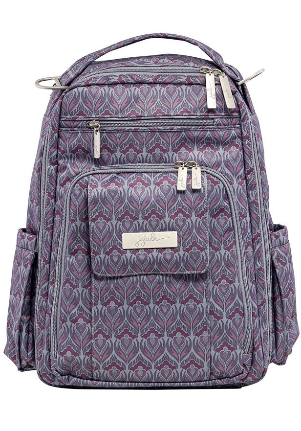 7313146104eb JuJuBe Be Right Back Multi-Functional Structured Diaper Bag, Classic  Collection - Amethyst Ice