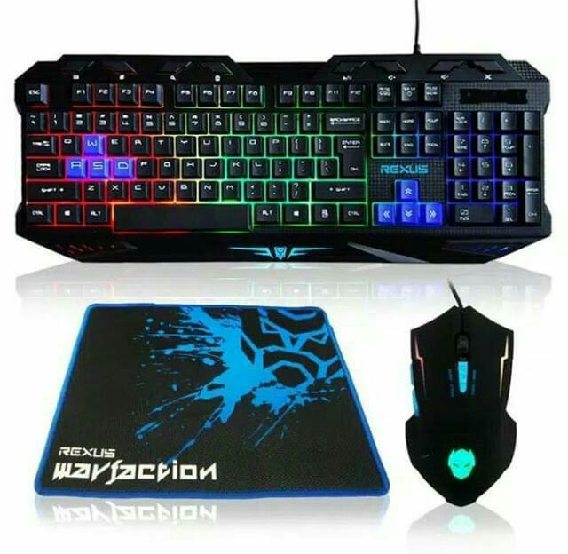 Keyboard Gaming+ mouse gaming+alas nya