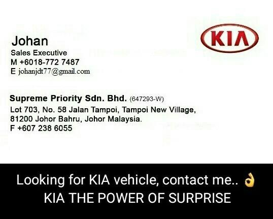 "KIA MOTORS PROMOTIONS MONTH OF APRIL & PRE ""RAYA PROMOTIONS"" 2019"