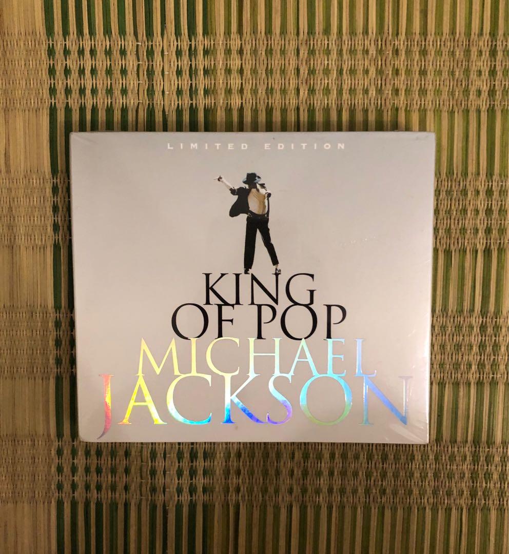 King of pop Michael Jackson CD