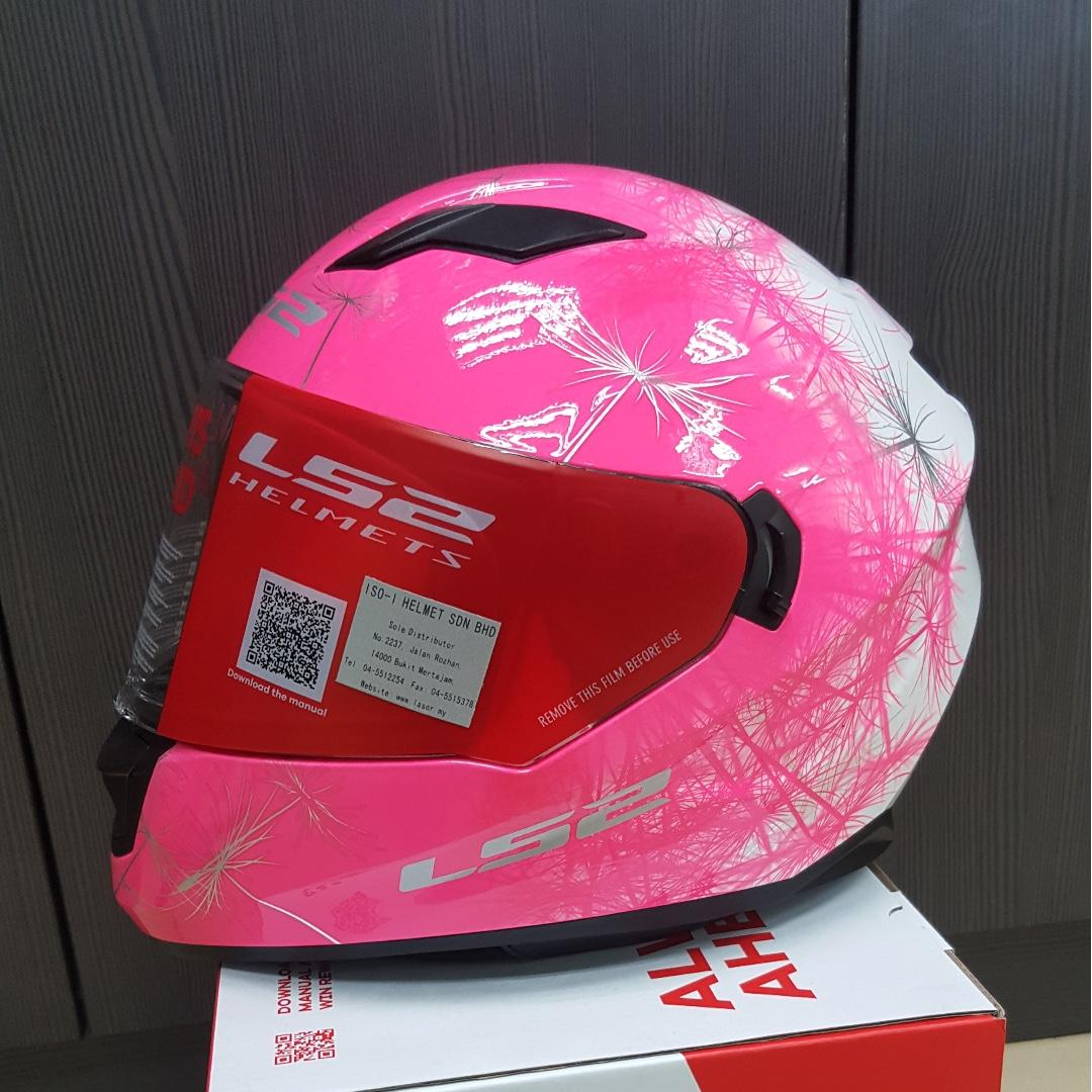 LS2 FF320 FLUO PINK, Auto Accessories on Carousell