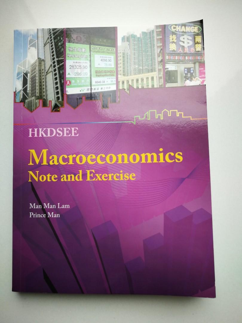 macroeconomics note and exercise