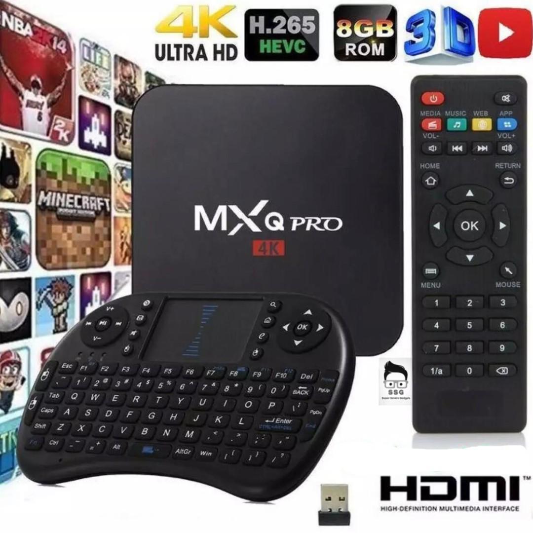 MXQ Pro 4K TV Box with free Wireless KeyBoard on Carousell