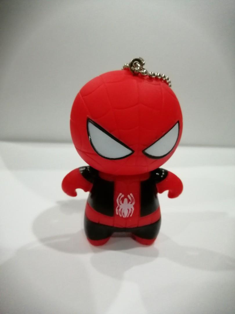 NEW Marvel Avengers Fun Superhero Spiderman Keychain Key